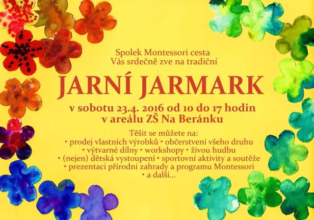 Pozvánka_jarní jarmark 2016